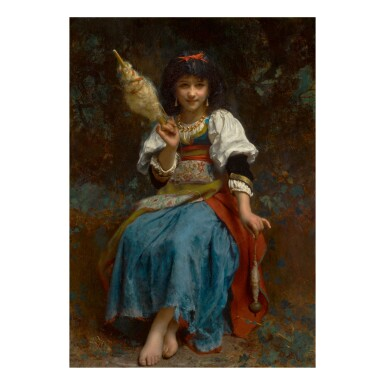ETIENNE ADOLPHE PIOT | THE FAIR SPINNER