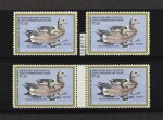Hunting Permits 1984 $7.50 Multicolored Special Printing (RW51 var)