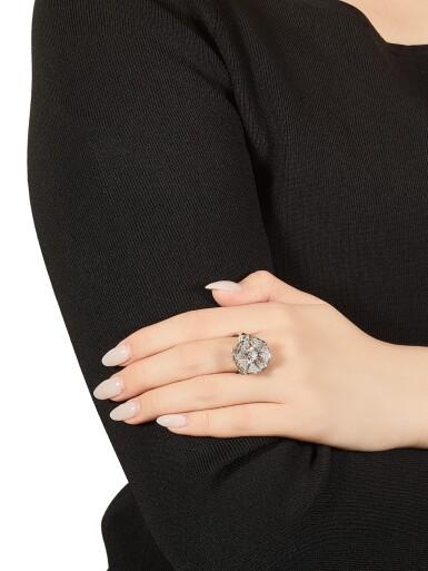 View 4. Thumbnail of Lot 1783. Three Gold and Diamond Rings | 寶格麗 | K金 配 鑽石 戒指三枚.