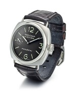 PANERAI | RADIOMIR BLACK SEAL, REFERENCE PAM00183, A LIMITED EDITION STAINLESS STEEL WRISTWATCH, CIRCA 2010