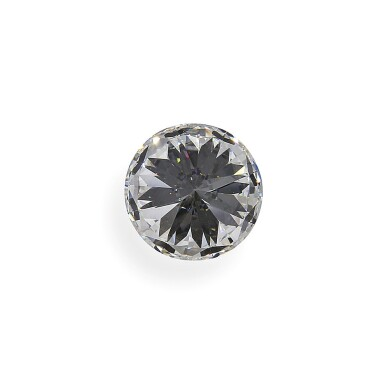 View 5. Thumbnail of Lot 2. A 4.07 Carat Round Diamond, E Color, VS1 Clarity.