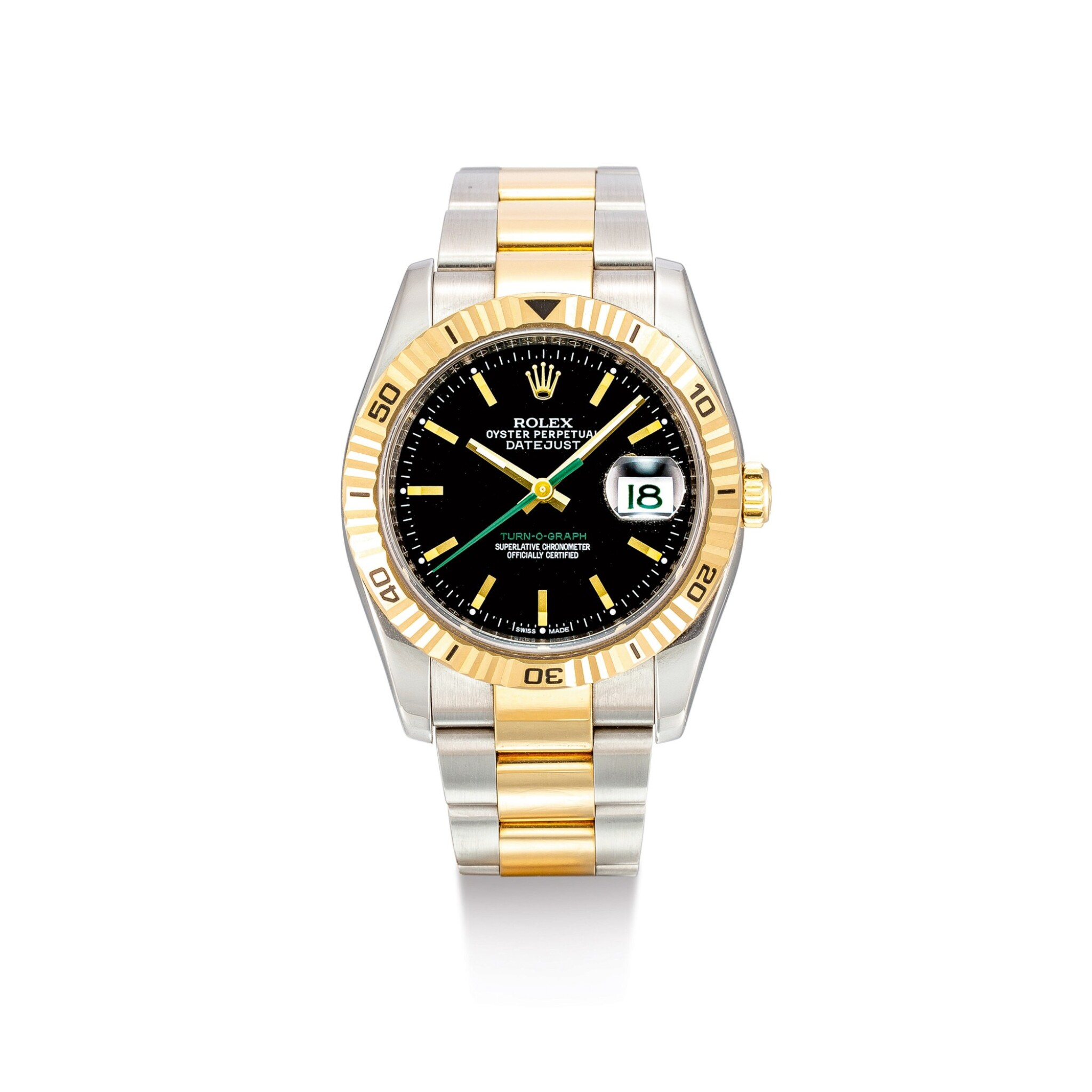 """View 1 of Lot 2016. ROLEX 
