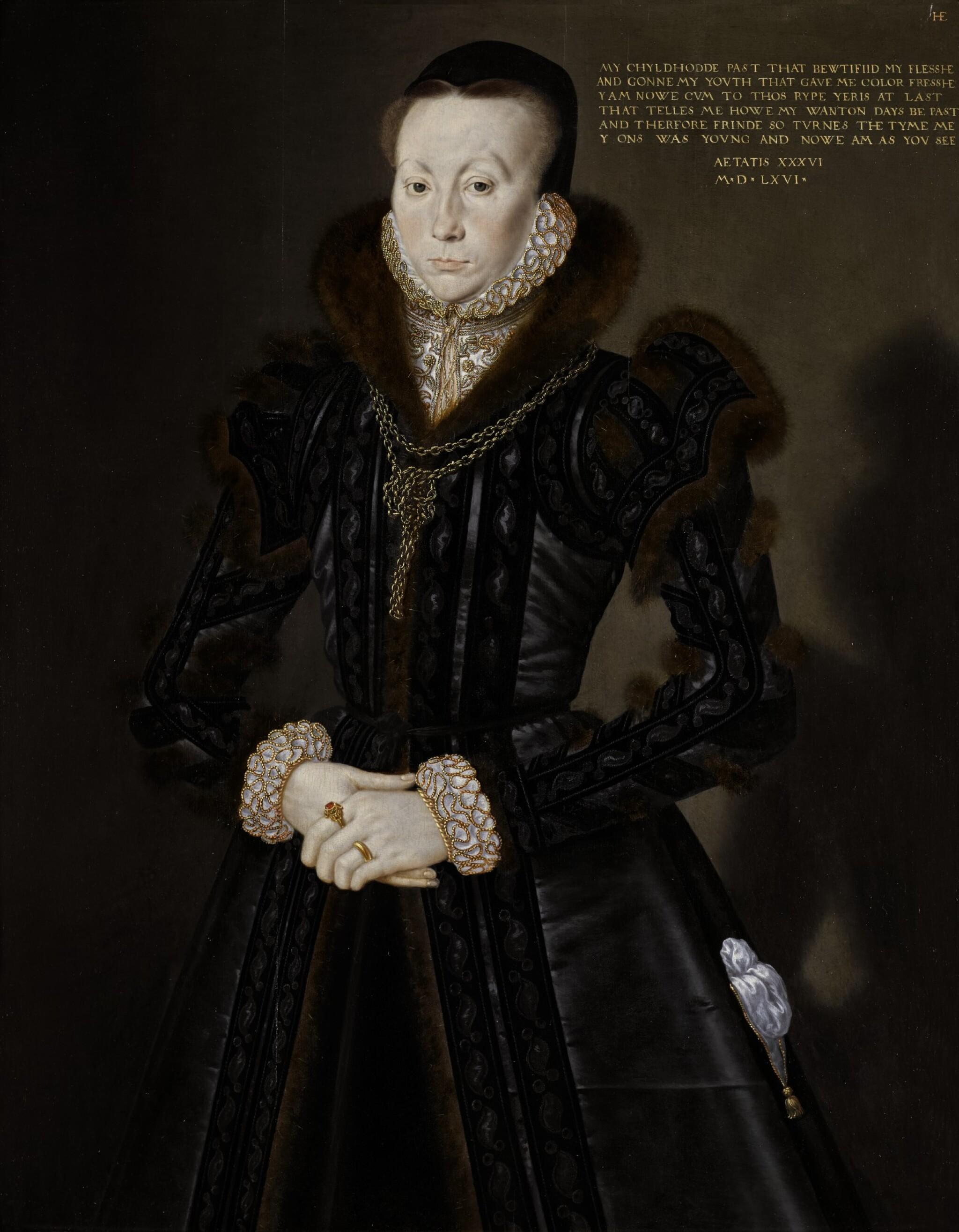 View 1 of Lot 7. Portrait of Joan Thornbury, Mrs Richard Wakeman | 《瓊・桑伯里,理查德・韋克曼夫人肖像》.