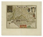 BLAEU, WILLEM JANSZOON   Nova Virginae tabula. [Amsterdam, ca. 1640 or later]
