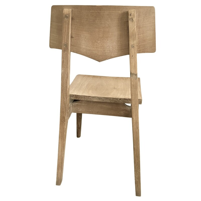 Mid-Century Modern Style Handcrafted Side Chair