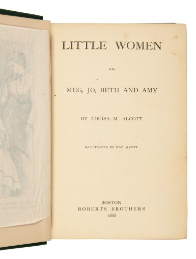 View 2. Thumbnail of Lot 1. Alcott, Louisa May | First edition of one of the most endearing American novels of the 19th century.
