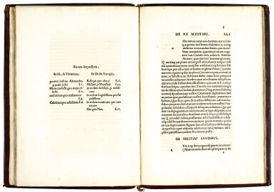 Acquaviva, De venatione et de aucupio, Naples, 1519, old red goatskin