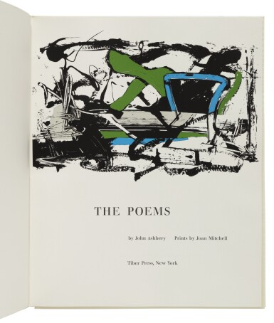 View 3. Thumbnail of Lot 115. ABSTRACT EXPRESSIONISM | A set of 4 volumes of poetry by New York School poets, each illustrated by a second generation Abstract Expressionist.New York: Tiber Press, 1960.