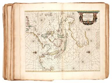 View 2. Thumbnail of Lot 55. DONCKER | Zee atlas, 1672.