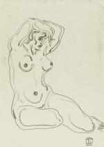 SANYU 常玉 | SEATED NUDE 坐姿裸女