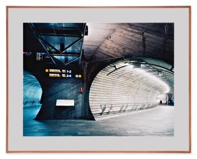 View 2. Thumbnail of Lot 77. CANDIDA HÖFER | 'U-BAHNSTATION THEATERPLATZ OSLO III'.