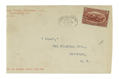 1898 Trans-Mississippi 2c Copper Red Earliest Known Use (286)
