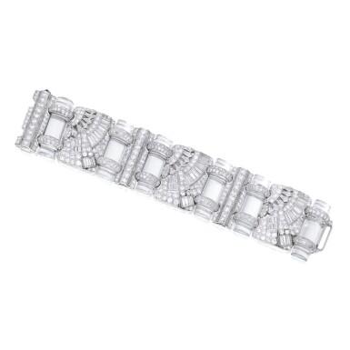 ROCK CRYSTAL AND DIAMOND BRACELET | 白水晶配鑽石手鏈