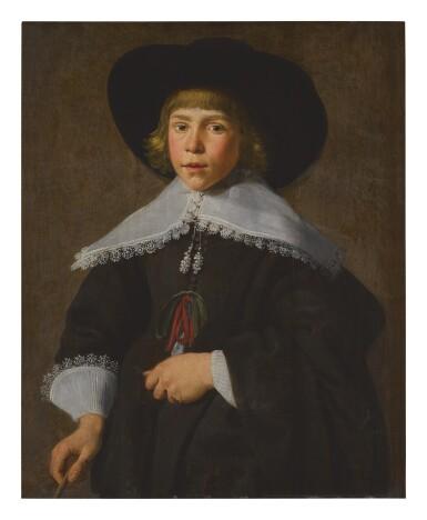 View 1. Thumbnail of Lot 577. DUTCH SCHOOL, CIRCA 1637 | PORTRAIT OF LUBEN [LUBBERT?] VAN ECK.