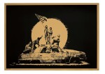 Banksy 班克斯 | Gold Flag 金色旗幟