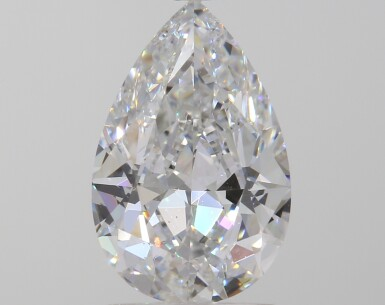 A 1.59 Carat Pear-Shaped Diamond, D Color, VS2 Clarity