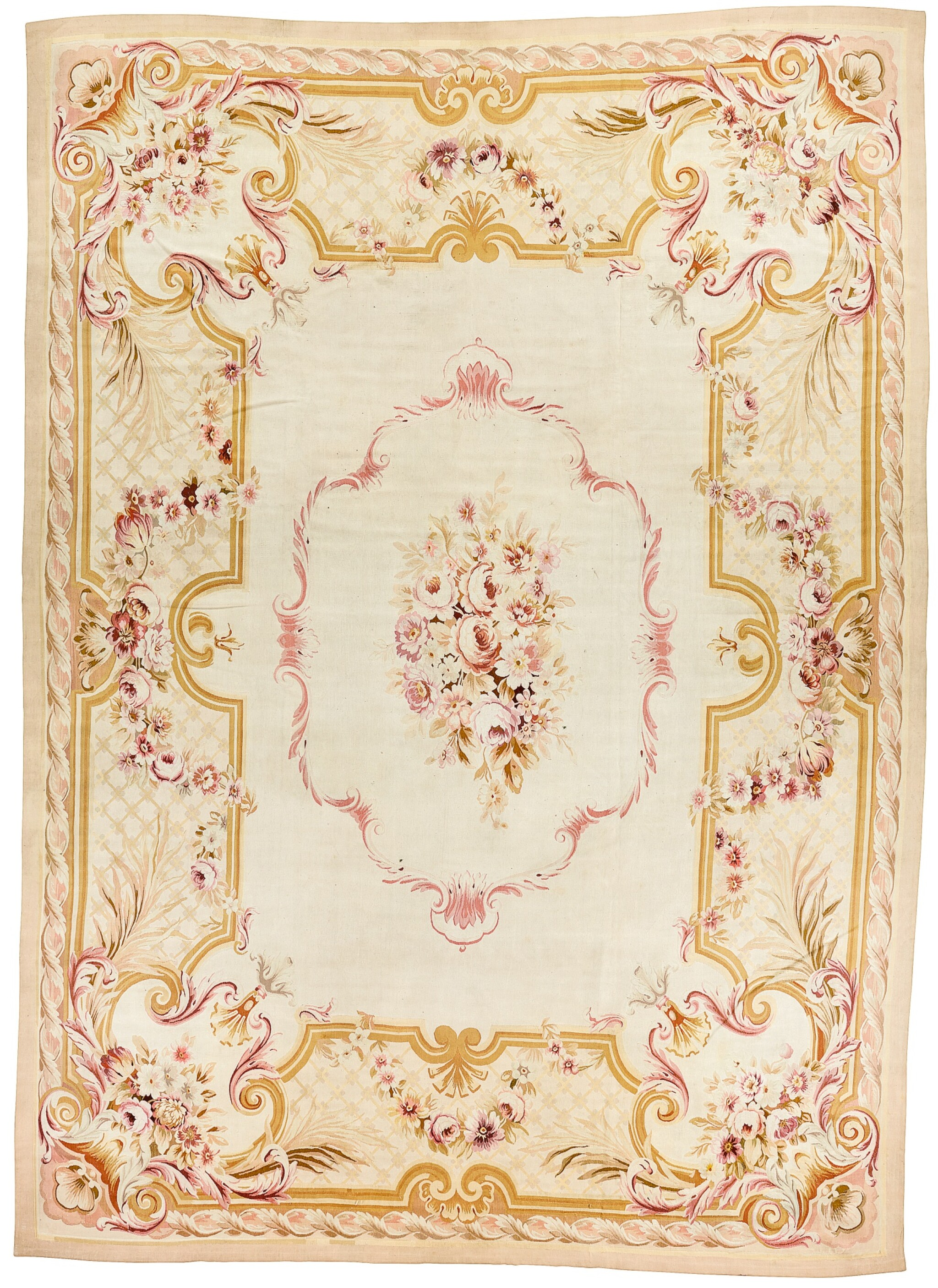 View 1 of Lot 199. AN AUBUSSON CARPET, LOUIS-PHILIPPE.