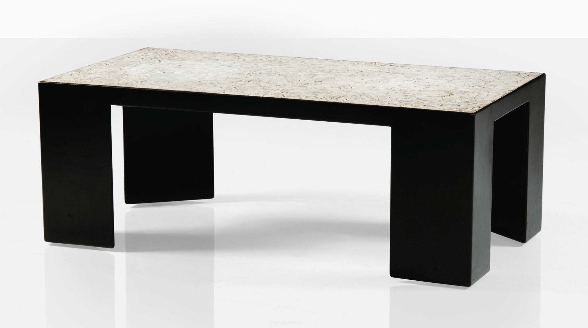 View full screen - View 1 of Lot 31. JEAN DUNAND |  LOW TABLE [TABLE BASSE].