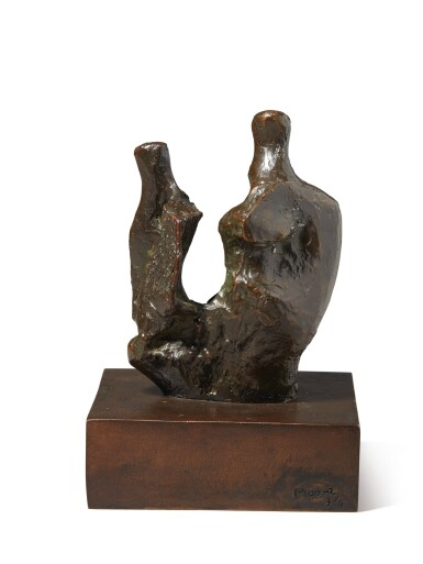 View 3. Thumbnail of Lot 207. HENRY MOORE | MOTHER AND CHILD (BONE).