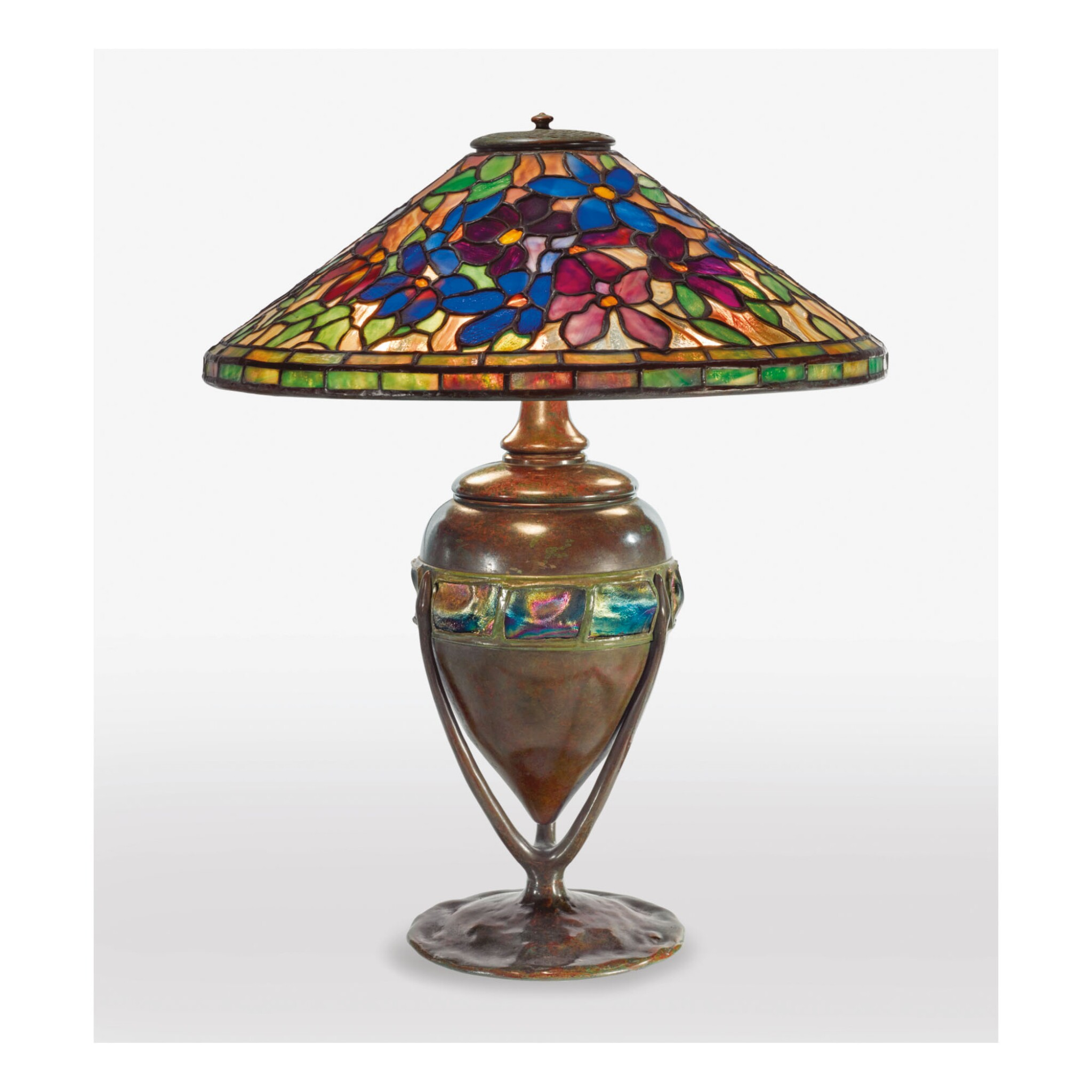 """View 1 of Lot 8. TIFFANY STUDIOS 