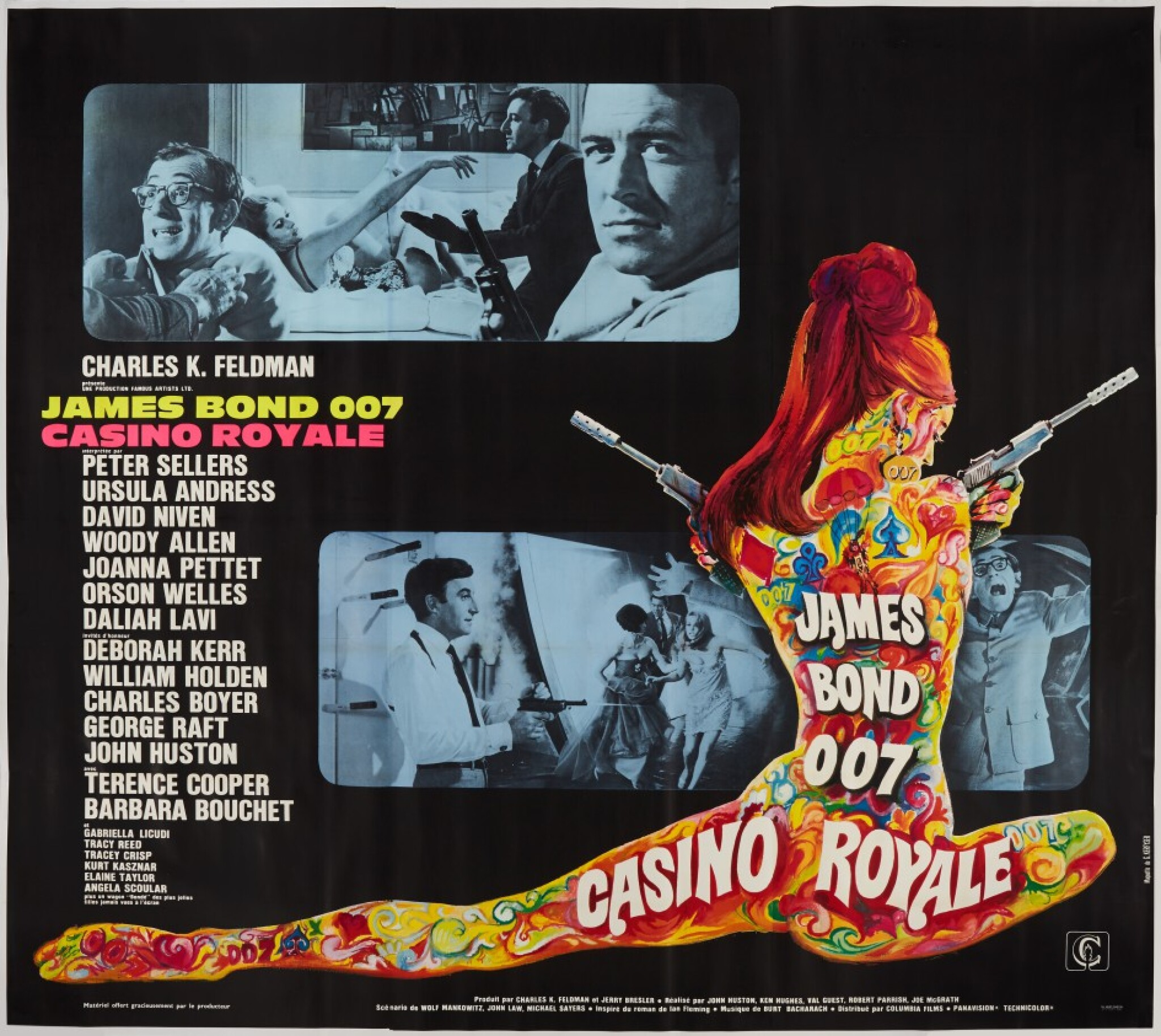 View 1 of Lot 80. CASINO ROYALE (1967) POSTER, FRENCH  .