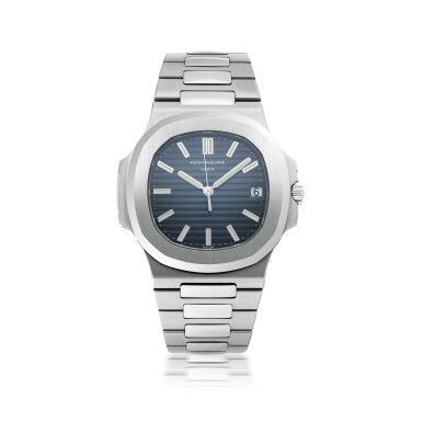 PATEK PHILIPPE | NAUTILUS, REF 5711, STAINLESS STEEL WRISTWATCH WITH DATE AND BRACELET CIRCA 2013