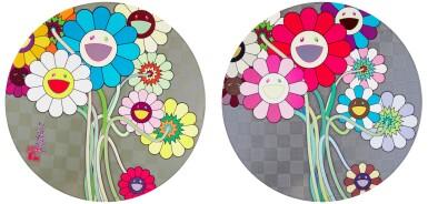 View 1. Thumbnail of Lot 36. TAKASHI MURAKAMI   FLOWERS FOR ALGERNON; AND WARHOL/SILVER.