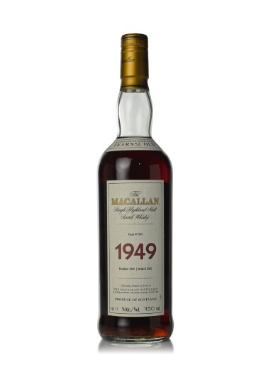 View 1. Thumbnail of Lot 21. The Macallan Fine & Rare 52 Year Old 41.1 abv 1949 (1 BT75cl).