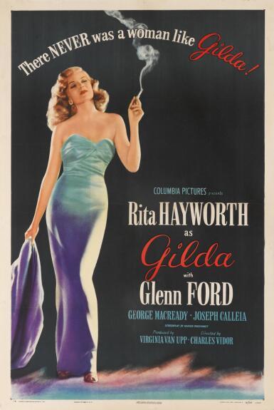 GILDA (1946) POSTER, US