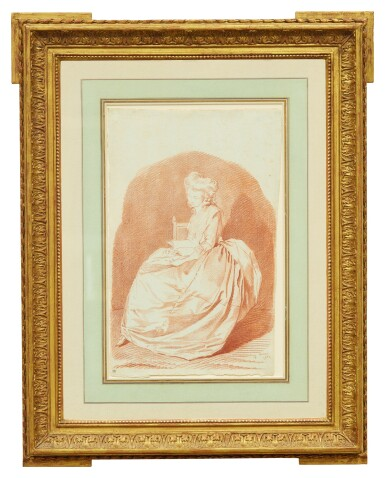 View 2. Thumbnail of Lot 2. LOUIS ROLAND TRINQUESSE | PORTRAIT OF MARIANNE FRANMERY.