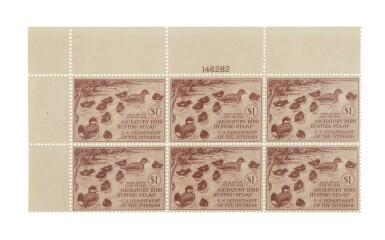 Hunting Permits 1941 $1.00 Brown Carmine (RW8)