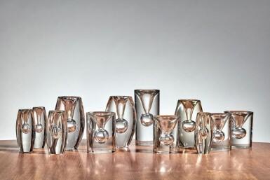 "View 1. Thumbnail of Lot 74. Group of 12 ""Tokio"" Vases."