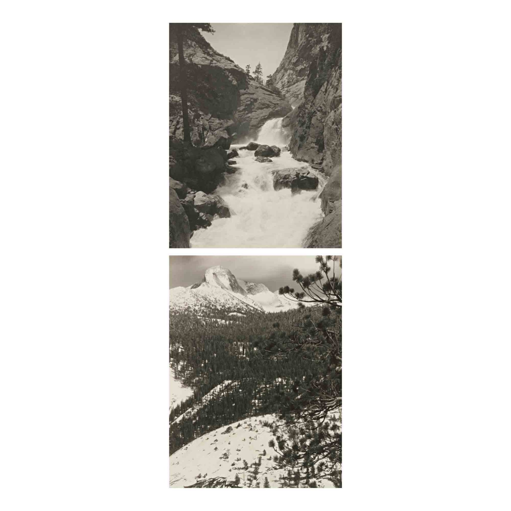 View full screen - View 1 of Lot 91. 'Parmelian Prints of The High Sierras'.