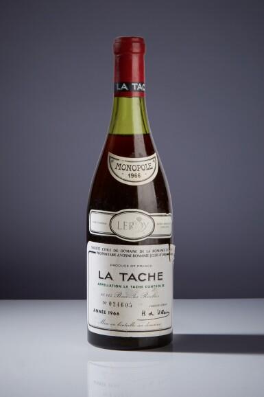 View 1. Thumbnail of Lot 11. La Tâche 1966 Domaine de la Romanée-Conti (1 BT).