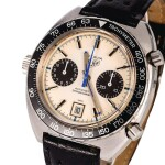 HEUER | Autavia, Ref. 1163, A Stainless Steel Chronograph Wristwatch, Circa early 1970s