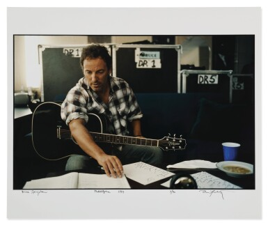 View 2. Thumbnail of Lot 22. ANNIE LEIBOVITZ | 'BRUCE SPRINGSTEEN'.
