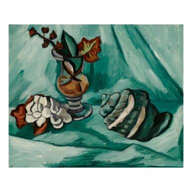 MARSDEN HARTLEY | STILL LIFE WITH CONCH SHELL