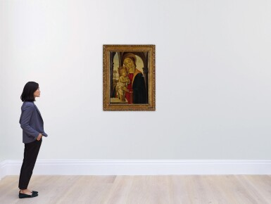 View 4. Thumbnail of Lot 25. Madonna and Child.