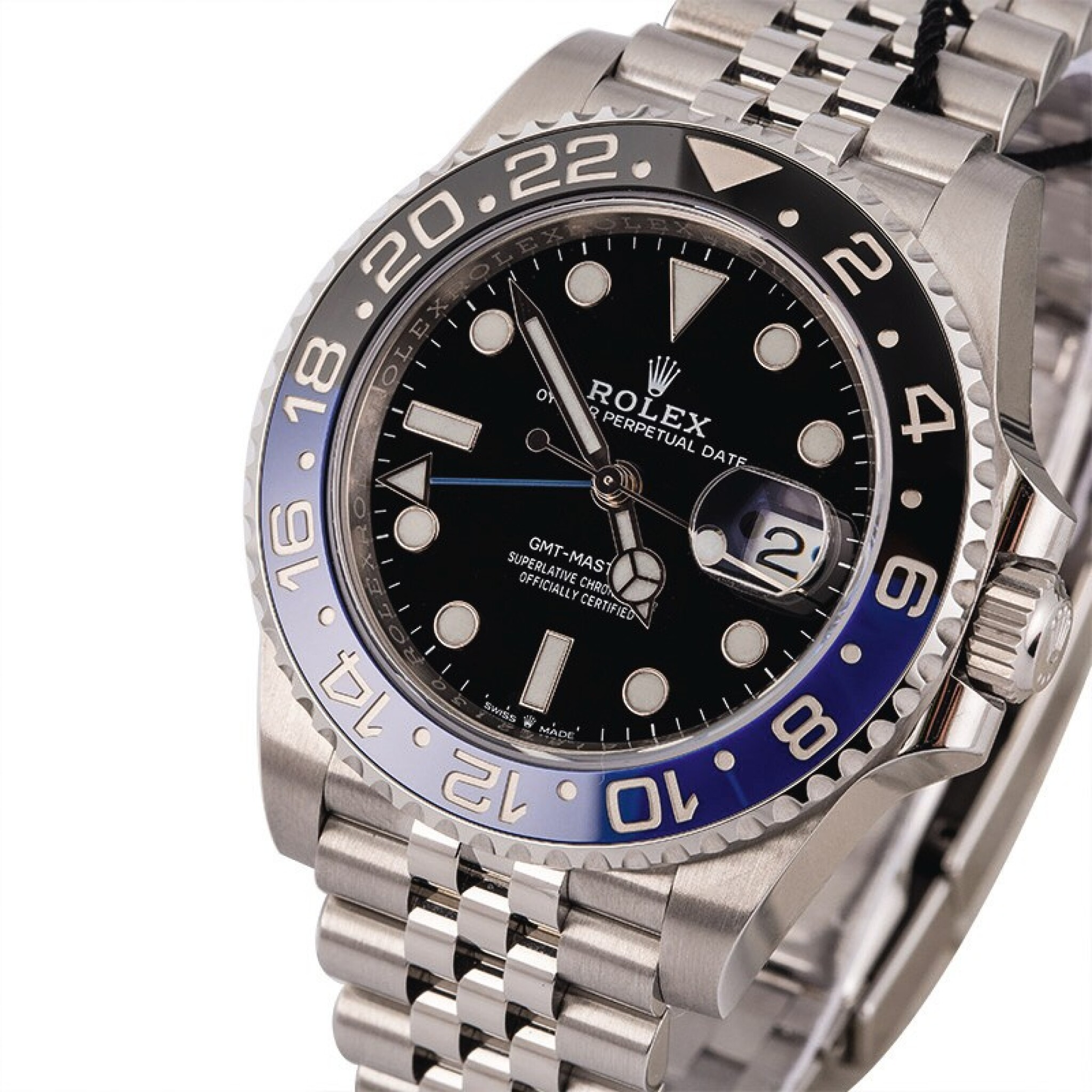 View full screen - View 1 of Lot 6. ROLEX | GMT Master II, Ref. 126710BLNR, A Stainless Steel Wristwatch with Bracelet, Circa 2019.