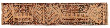 "View 5. Thumbnail of Lot 5. Tissu cérémoniel ""à jonques"" palepai, Lampung, Sumatra, Indonésie, circa.1900 | Ceremonial hanging ""ship cloth"" palepai, Lampung, Sumatra, Indonesia, ca. 1900."