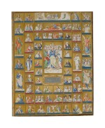 ROMAN SCHOOL, LATE 16TH CENTURY | LITANY OF THE SAINTS