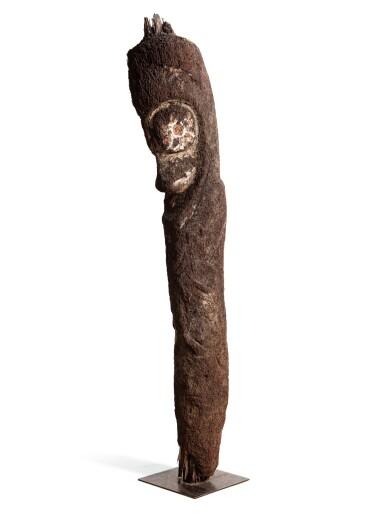View 2. Thumbnail of Lot 67. Statue de grade en fougère arborescente, Archipel du Vanuatu | Tree-Fern grade-figure, Vanuatu Archipelago.