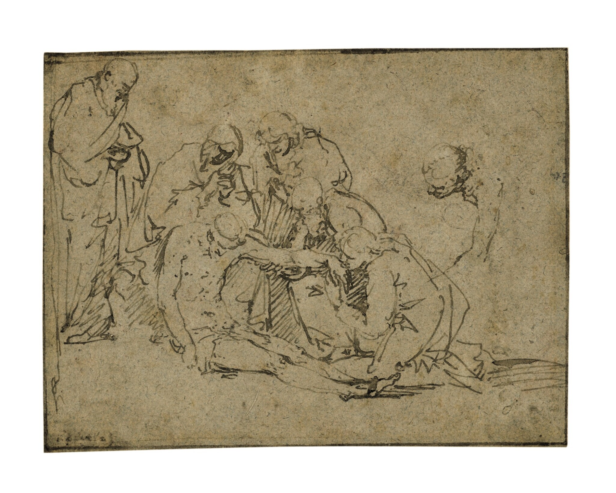 View full screen - View 1 of Lot 220. The Lamentation of Christ.
