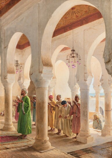 GEORGES BRETEGNIER | THE HOUR OF PRAYER, TANGIER