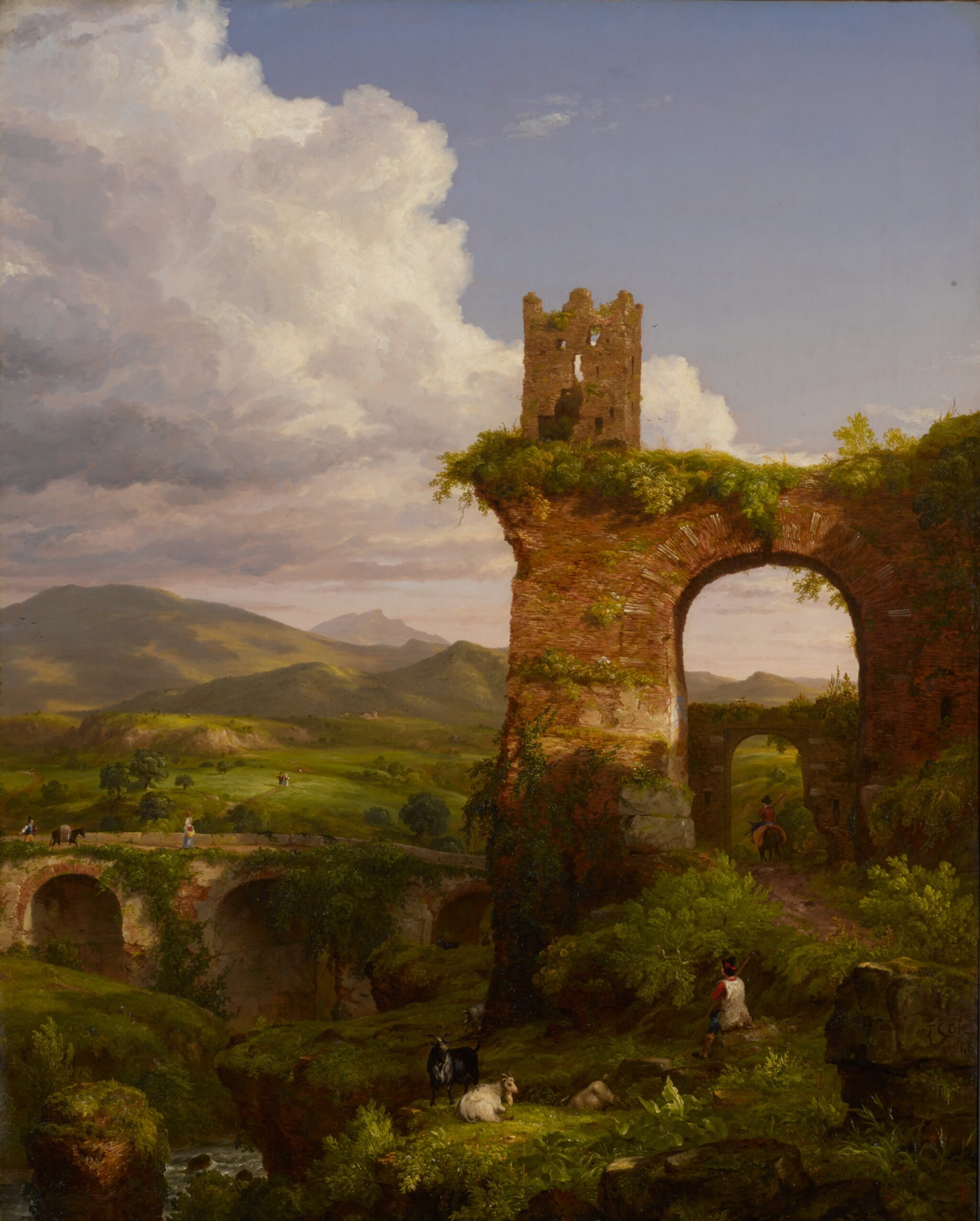 View full screen - View 1 of Lot 26. The Arch of Nero.