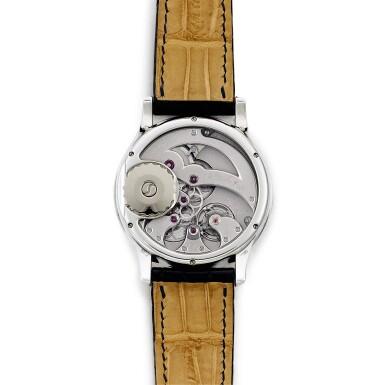 View 3. Thumbnail of Lot 2222. Romain Gauthier   Prestige HM, A limited edition platinum wristwatch, Circa 2007   Prestige HM  限量版鉑金腕錶,約2007年製.