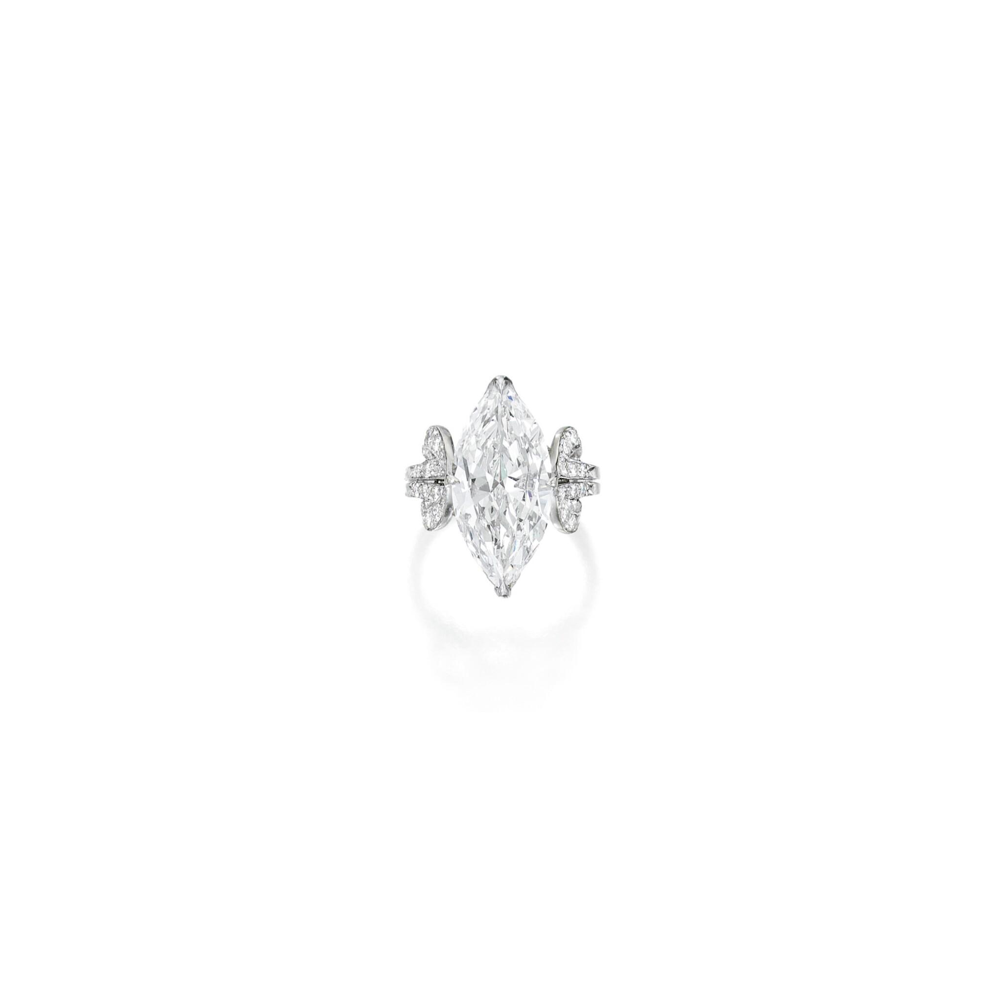 View full screen - View 1 of Lot 601. DIAMOND RING, VERDURA   鑽石戒指,Verdura.