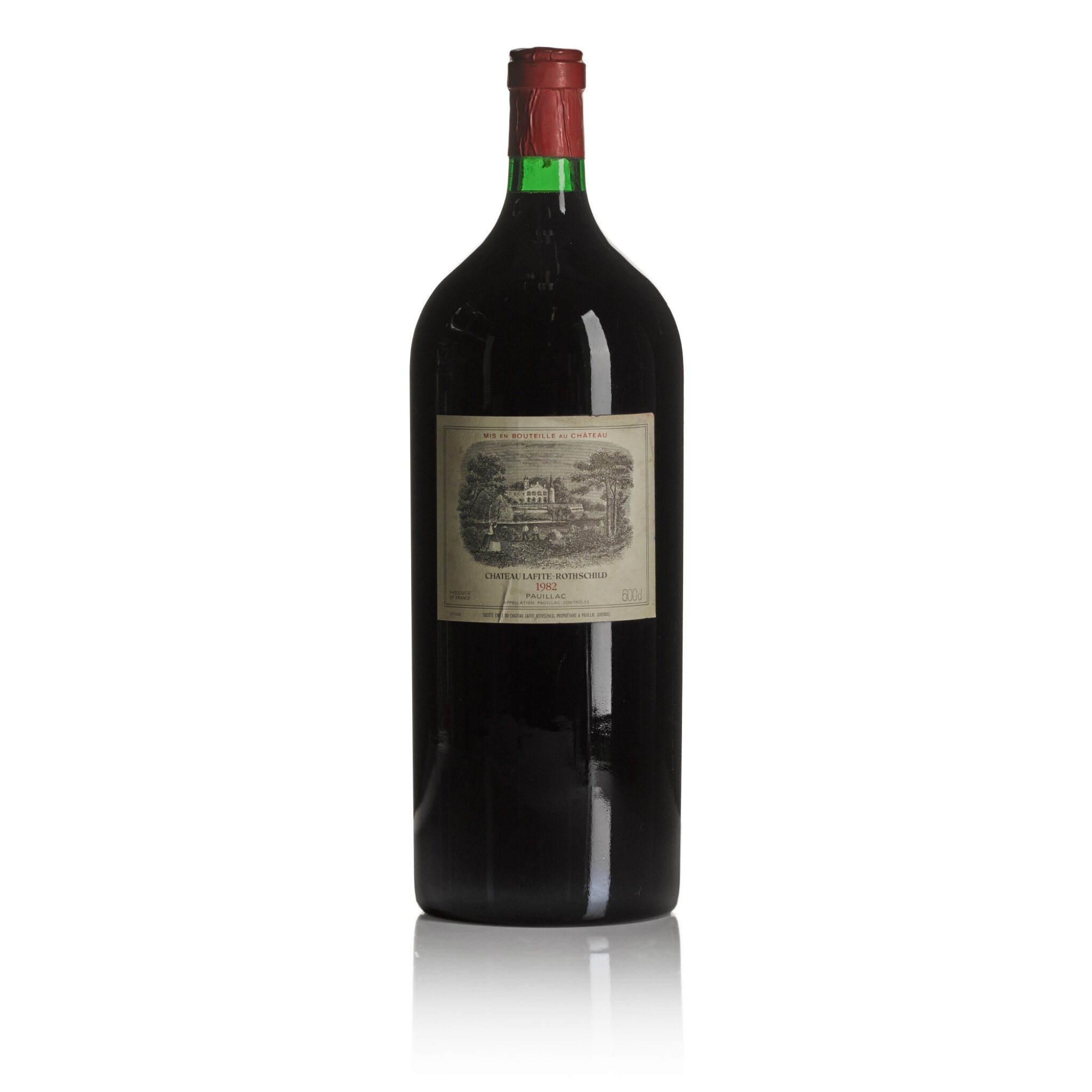 View full screen - View 1 of Lot 476. Château Lafite 1982  (1 IMP).