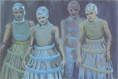 View 1. Thumbnail of Lot 110. The Blue Dancers.