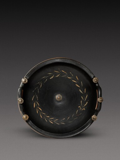 View 4. Thumbnail of Lot 20. An Apulian Red-figured Patera, attributed to the Iliupersis Painter, circa 350-330 B.C..